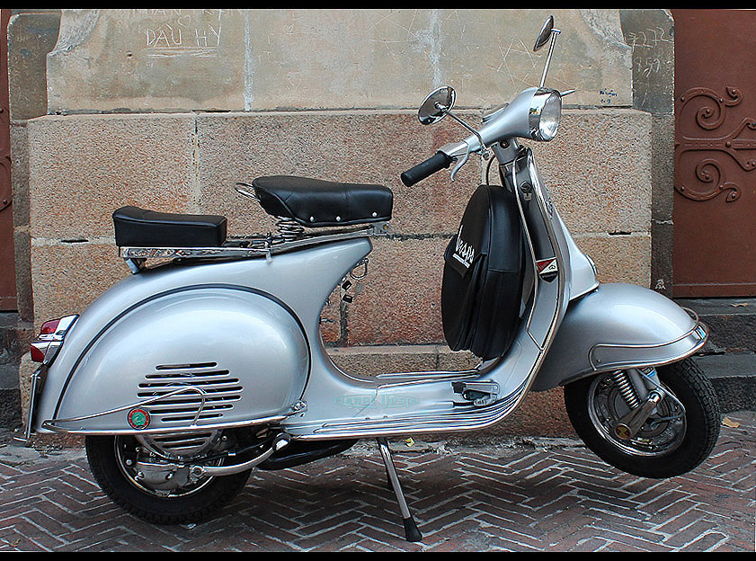 Green Vespa Scooter For Sale
